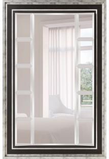 Espelho Decorativo Luca 118X179 Cm Prata