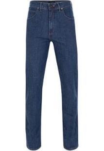 Calça Jeans Pierre Cardin Denim - Masculino-Azul