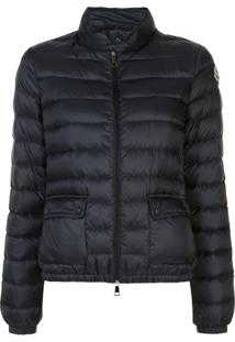 Moncler Fitted Padded Jacket - Azul