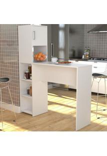 Armário De Cozinha 1 Porta Gourmet Bac2000 Branco - Appunto
