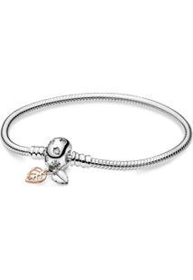 Bracelete Pandora Rose™ Folhas Únicas