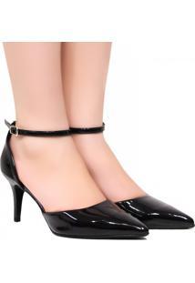 Sapato Zariff Shoes Scarpin Noivas Fivela