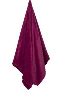 Cobertor Flannel Loft De Casal- Bordã´- 180X220Cmcamesa