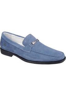 Sapato Casual Sandro & Co Doguei Masculino - Masculino-Azul