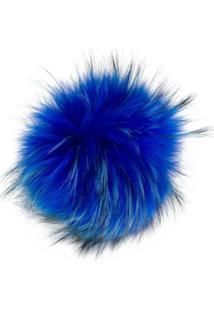 N.Peal Detachable Pom Pom - Azul