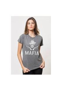 Camiseta Jay Jay Básica Mafia Chumbo