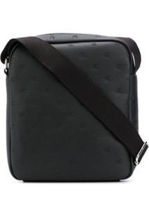 Calvin Klein Bolsa Carteiro Com Logo Gravado - Preto