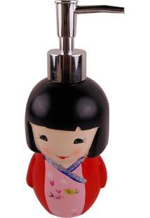 Porta Sabonete Liquido Japonesa Saboneteira Liquida Cerâmica