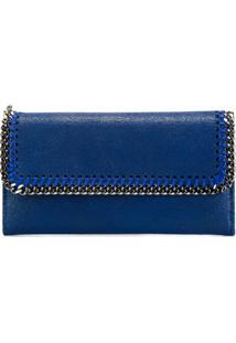 Stella Mccartney Carteira Modelo 'Falabella' - Azul