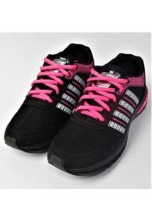 Tenis Zeuz Bwx Feminino - Feminino-Preto+Pink