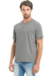 Camiseta Básica Cinza Hangar 33