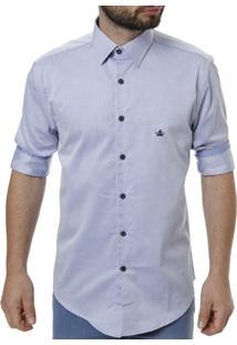 Camisa Manga 3/4 Masculina - Masculino