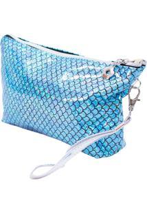 Necessaire Minas De Presentes Sereia Azul