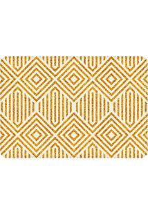 Tapete Love Decor De Sala Wevans Geométrico Amarelo