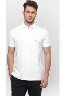 Camisa Polo Tommy Hilfiger Piquet Regular - Masculino