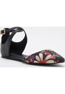 Sapatilha Black Floral Cs Club Estampado - Kanui