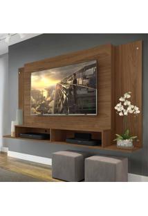 Painel Tã³Kio Multimã³Veis Para Tv De Atã© 60 Polegadas Com Nicho - Duna - Incolor/Marrom - Dafiti