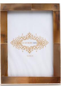 Porta Retrato Le Lis Blanc Casa Oriental Off White (Off White, Un)