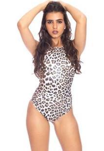 f14de56d0922 ... Body Moda Vicio Regata Decote Costas Feminino - Feminino-Marrom