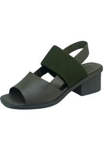 Sandália S2 Shoes Amora Verde Militar