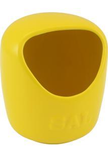 Saleiro Mondoceram Gourmet De Cerâmica 0.65 Kg Amarelo