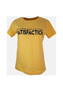 T-Shirt Satisfaction Amarelo