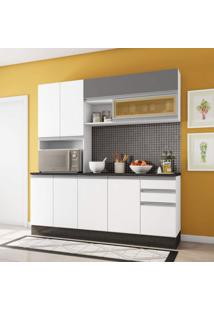 Cozinha Completa 4 Peças Evidence Poliman Móveis Branco