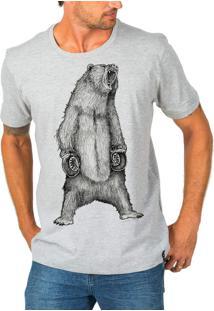 Camiseta Urza Urso Mescla