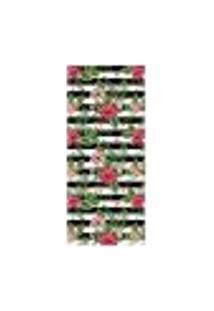Adesivo Decorativo De Porta - Flores - 1656Cnpt
