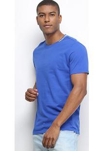 Camiseta Calvin Klein Básica Masculina - Masculino-Azul