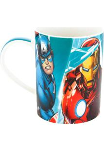 Caneca Marvel Colorida