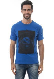 Camiseta Manga Curta Crossfire Snake Azul