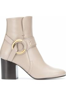Chloé Ankle Boot - Cinza