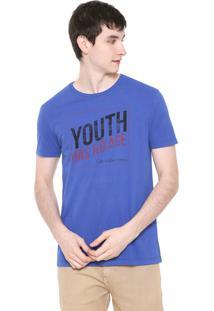 Camiseta Calvin Klein Jeans Youth Azul