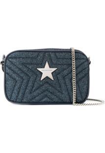 Stella Mccartney Bolsa Transversal Star - Azul