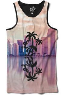 ... Camiseta Regata Long Beach Lb Reflexo Sublimada Masculina - Masculino- Roxo 15258afe5a1