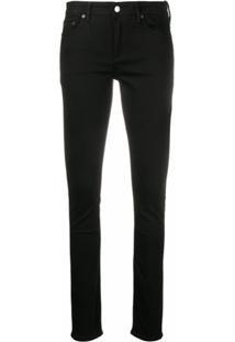 Acne Studios Calça Jeans Stretch Climb - Preto