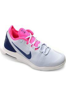 Tênis Nike Court Air Max Wildcard Feminino - Feminino-Azul+Pink