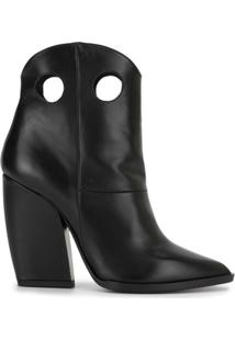 Pierre Hardy Ankle Boot Mica Western - Preto