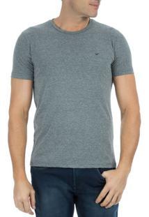Camiseta Masculina Chumbo