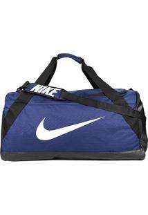 Mala Nike Brasilia Xl Duff - Unissex-Azul+Preto