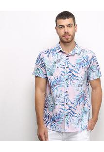 Camisa Triton Masculino Estampada Resort 311401463 - Masculino