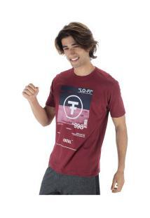 Camiseta Fatal Estampada 22109 - Masculina - Vinho