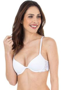 Sutiã Renda Bojo Push Up Branco | 533.012