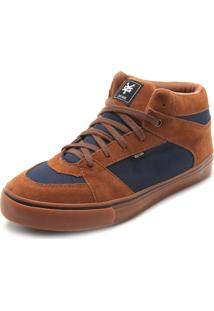 Tênis Zoo York Mid College Caramelo/Azul
