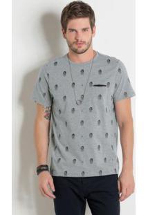 Camiseta Estampada Actual Mescla