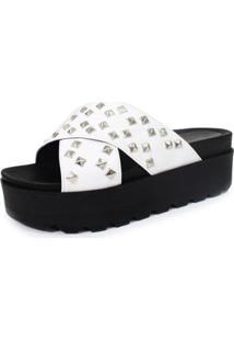 Sandália Birken Damannu Shoes Amanda Spikes Feminina - Feminino