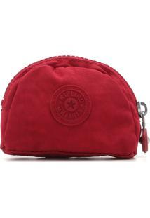 Necessaire Kipling Mini - Porta Moedas Pouches Vermelha