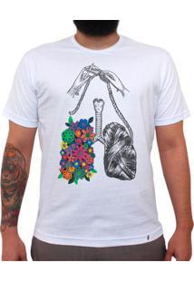 Eu Respiro Tricô - Camiseta Clássica Masculina
