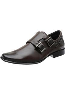 Sapato Social Stefanello Toronto - Masculino-Marrom